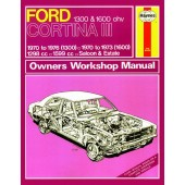 Haynes Ford Cortina Mk III 1300 & 1600 (70 - 76) up to P *