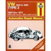 Haynes manual: Volkswagen Type 3 (63-73) up to M (Classic Reprint)
