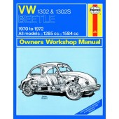 Haynes manual: Volkswagen Beetle 1302 and 1302S (70-72) up to L (Classic Reprint)