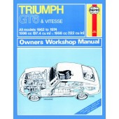 Haynes manual: Triumph GT6 and Vitesse (62-74 ) up to N (Classic Reprint)