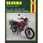 Haynes manual: Suzuki 250 & 350 Twins (68-78)