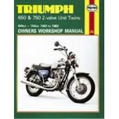 Haynes manual: Triumph 650 & 750 2-valve Unit Twins (63-83)