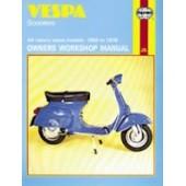 Haynes manual: Vespa Scooters (59-78)