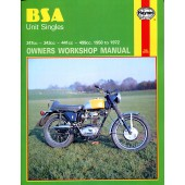 Haynes BSA Unit Singles (58 - 72)