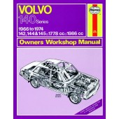 Haynes manual: Volvo 142, 144 and 145 (66-74) up to N (Classic Reprint)