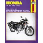 Haynes manual: Honda CB750 sohc Four (69-79)