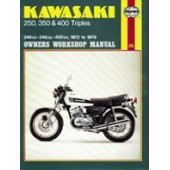 Haynes manual: Kawasaki 250, 350 & 400 Triples (72-79)