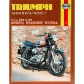 Haynes Triumph Trident & BSA Rocket 3 (69 - 75)