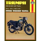 Haynes Triumph 350 & 500 Unit Twins (58 - 73)