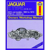 Haynes manual: Jaguar E Type (61-72) up to L
