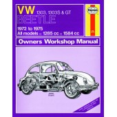 Haynes manual: Volkswagen Beetle 1303, 1303S and GT (72-75) up to P