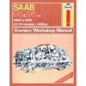Haynes manual: Saab 95 and 96 (66-76) up to R (Classic Reprint)