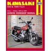 Haynes manual: Kawasaki 900 & 1000 Fours (73-77)