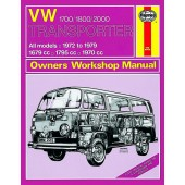 Haynes manual: Volkswagen Transporter 1700, 1800 and 2000 (72-79) up to V VW (Classic Reprint)