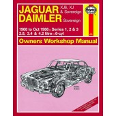 Haynes manual: Jaguar XJ6, XJ and Sovereign; Daimler Sovereign (68-Oct 86) up to D