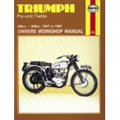 Haynes manual: Triumph Pre-Unit Twins (47-62)