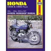 Haynes manual: Honda CB400 & CB550 Fours (73-77)