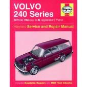 Haynes manual: Volvo 240 Series Petrol (74-93) up to K