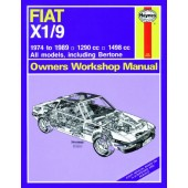Haynes manual: Fiat X1/9 (74-89) up to G (Classic Reprint)