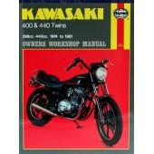 Haynes Kawasaki 400 & 440 Twins (74 - 81)