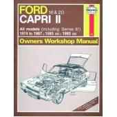Haynes Ford Capri II (& III) 1.6 & 2.0 (74 - 87) up to E *