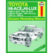 Haynes manual: Toyota Hi-Ace and Hi-Lux Petrol (69-Oct 83) up to A