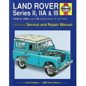 Haynes manual: Land Rover Series II, IIA & III 4-cyl Petrol (58-85) up to C