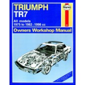 Haynes manual: Triumph TR7 (75-82) up to Y (Classic Reprint)
