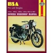 Haynes BSA Pre-unit Singles (54 - 61)