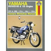 Haynes manual: Yamaha RS/RXS100 & 125 Singles (74-95)