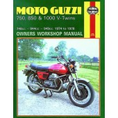 Haynes manual: Moto Guzzi 750, 850 & 1000 V-Twins (74-78)