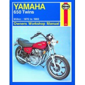 Haynes manual: Yamaha 650 Twins (70-83)