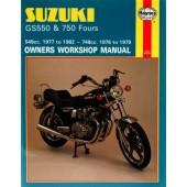 Haynes Suzuki GS550 (77 - 82) & GS750 Fours (76 - 79)