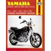 Haynes manual: Yamaha XS250, 360 & 400 sohc Twins (75-84)