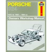 Haynes Porsche 924 & 924 Turbo (76 - 85) up to C