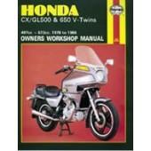 Haynes manual: Honda CX/GL500 & 650 V-Twins (78-86)