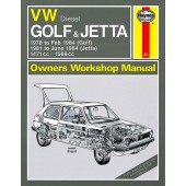 Haynes manual: Volkswagen Golf and Jetta Mk 1 Diesel (78-84) up to A