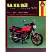 Haynes Suzuki GT250X7, GT200X5 & SB200 Twins (78 - 83)