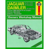 Haynes manual: Jaguar XJ12, XJS and Sovereign; Daimler Double Six (72-88) up to F