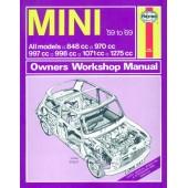 Haynes manual: Mini (59-69) up to H