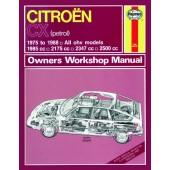 Haynes Citroen CX Owner's Workshop Manual