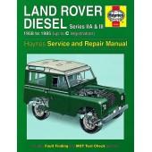 Haynes manual: Land Rover Series IIA & III Diesel (58-85) up to C