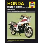 Haynes manual: Honda CB750 & CB900 dohc Fours (78-84)