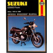 Haynes Suzuki GS850 Fours (78 - 88)