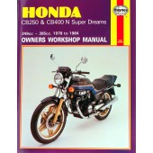 Haynes Honda CB250 & CB400N Super Dreams (78 - 84)