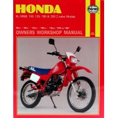 Haynes Honda XL/XR 80, 100, 125, 185 & 200 2-valve Models (78 - 87)