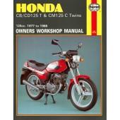Haynes Honda CB/CD125T & CM125C Twins (77 - 88)