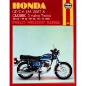 Haynes Honda CD/CM185 200T & CM250C 2-valve Twins (77 - 85)