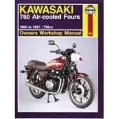 Haynes Kawasaki 750 Air-cooled Fours (80 - 91)