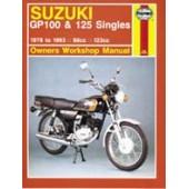 Haynes manual: Suzuki GP100 & 125 Singles (78-93)